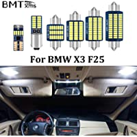 BMTxms Error Free Interior LED Lamps White Car Lights Interior LED Bulbs Map Dome License Plate Light Lamp Canbus for…