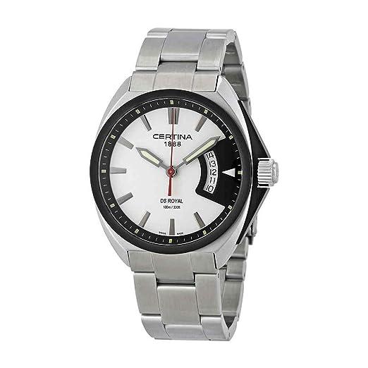 CERTINA DS Royal Reloj DE Hombre Cuarzo Suizo 42MM C010.410.11.051.00: Amazon.es: Relojes