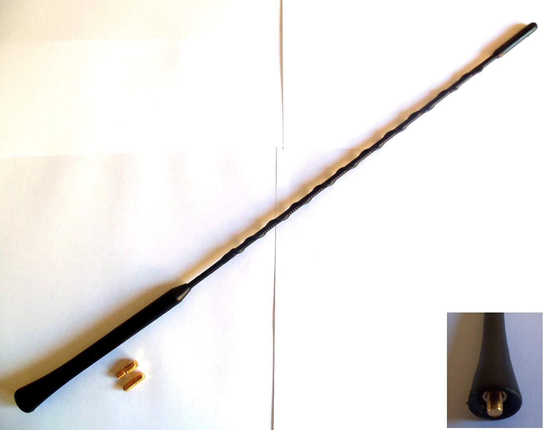 DJFP AERI017 Black Rubber Genuine Replacement Am//Fm Aerial Mast Antenna Roof Screw in Type