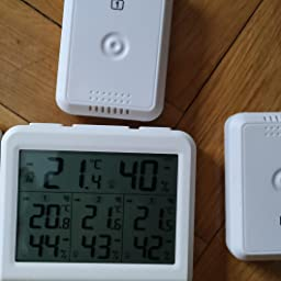 ORIA Termómetro Higrómetro Interior Exterior, Medidor Temperatura ...