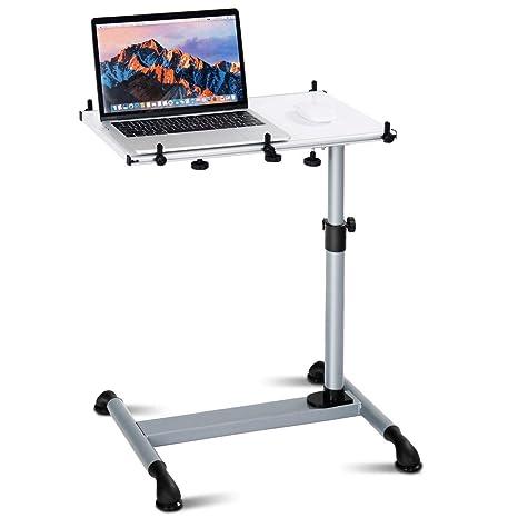 Amazon.com: Tangkula - Carrito para ordenador portátil, con ...