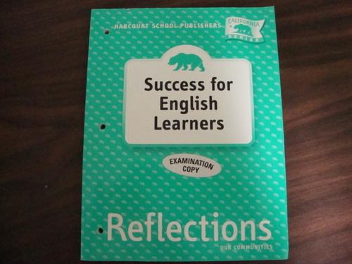 CA Tg: Success/Eng Lrnrs Gr3 Reflctns 07 pdf epub