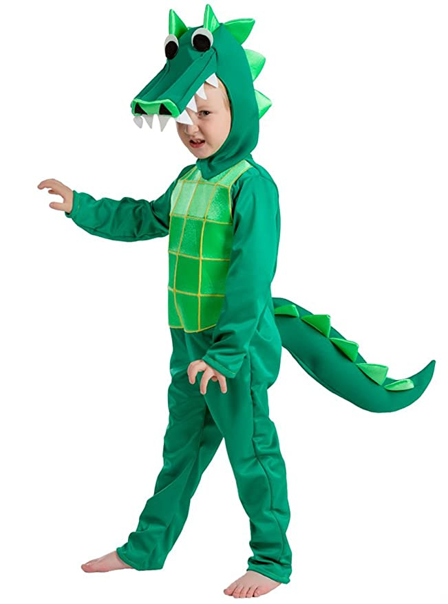 Disfraz de cocodrilo de la charca infantil: Amazon.es: Juguetes y ...
