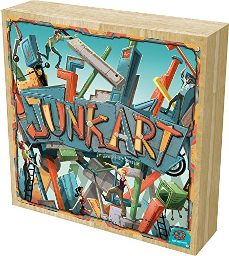 Junk Art Board Game by Pretzel Games