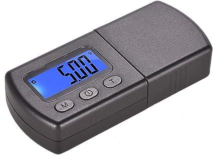 Mini giradischi digitale ad alta precisione Stilo Scala della forza dello stilo 5g Mini stilo digitale Scala della forza Indicatore del carico del braccio Bilancia digitale portatile per gioielli Oro