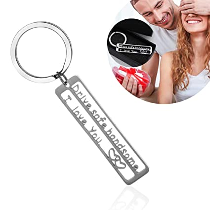 Drive Safe Keychain Mother's Day Gift Handsome I Love You Personalized Key  Chain Husband Gift Boyfriend Gift Sweet Gift, Dad Gift, Men Gift