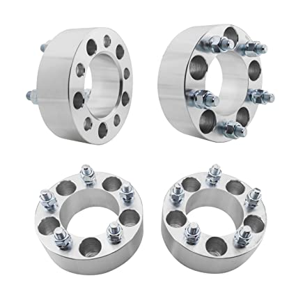 Orion Motor Tech 5x4.5 Wheel Spacers 2 inches with 1//2-20 Studs 4pcs Jeep Wrangler TJ Liberty KJ KK Grand Cherokee ZJ Compatible with Ford Ranger Explorer 94-14 Mustang