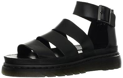 16ab41e6d869 Dr. Martens Women s CLARISSA Brando BLACK Roman sandals Black Size  4 UK (37