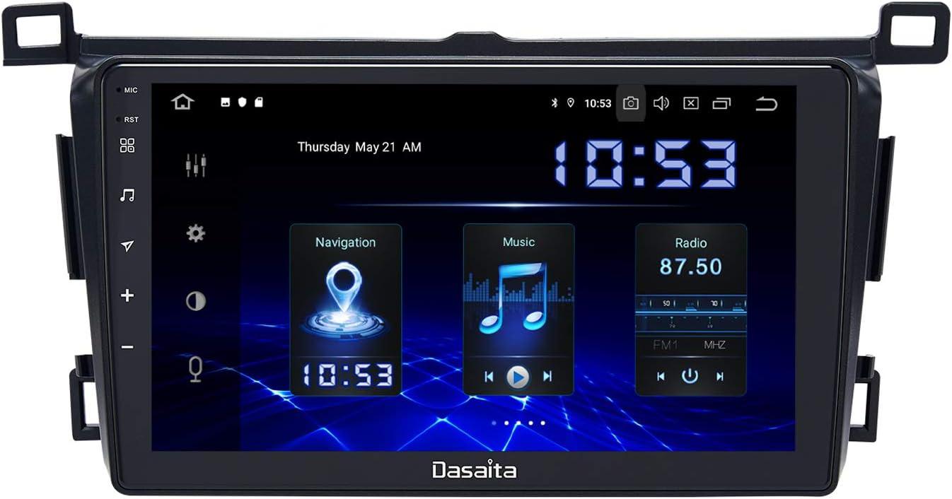 Amazon Com Dasaita Android 10 0 Car Stereo For Toyota Rav4 2014 2015 2016 2017 2018 Radio With 9 Screen Gps Navigation 4gb Ram 64gb Rom Head Unit Gps Navigation
