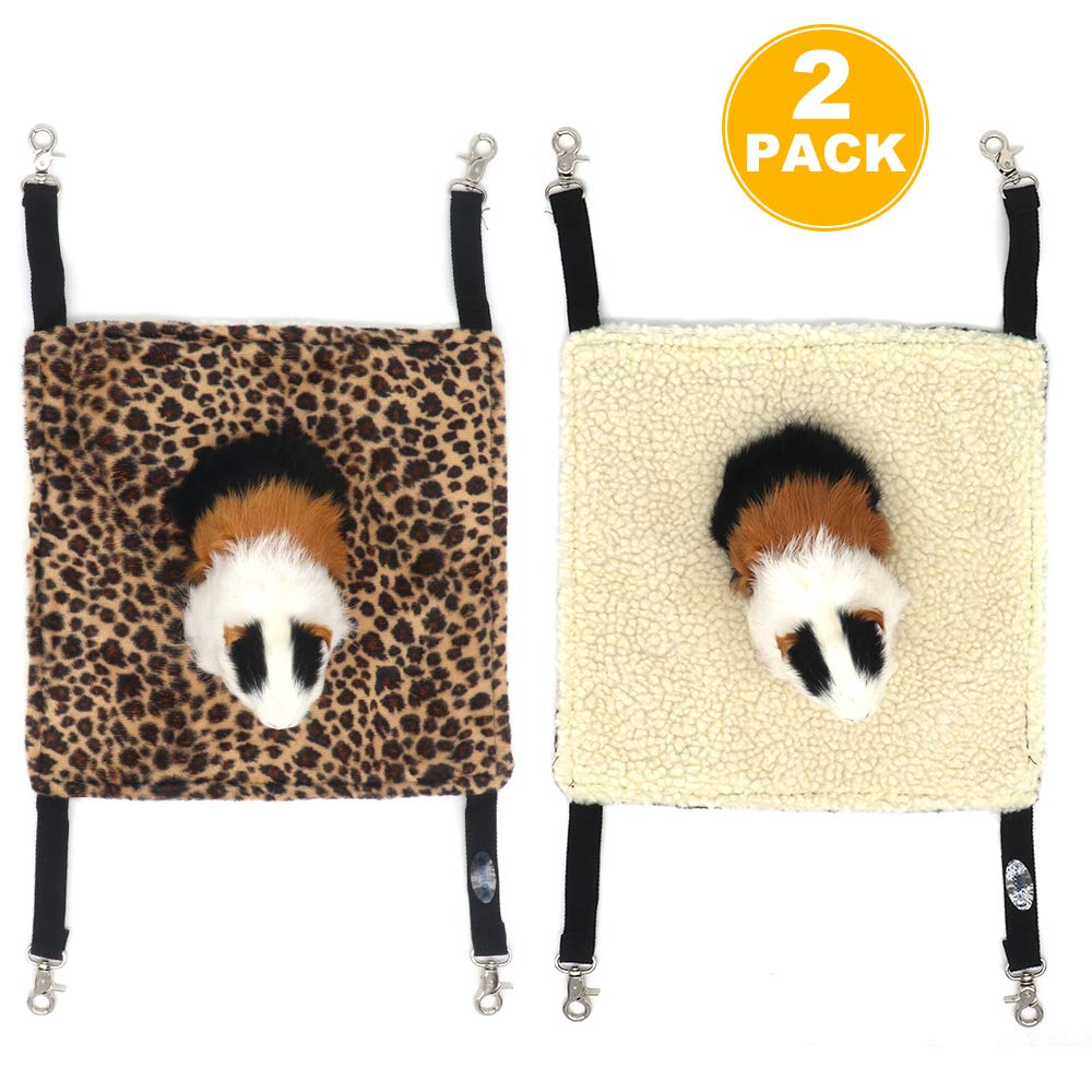Pet Products Learned Pet Cage Bed Mat Pad Hanging Ferret Hammock Bed Soft Cool Comfortable Mat Pad Hammock Use Kitten Parrot Small Animals Supplies