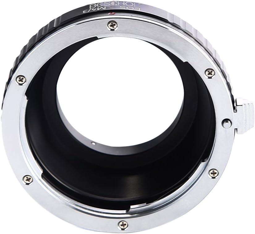 Fits Fuji X-Pro1 X-Pro2 X-E1 X-E2 X-M1 X-A1 X-A2 X-A3 X-A10 X-M1 X-T1 X-T2 X-T20 X30 Lens Mount Adapter for Canon EOS EF EF-S Lens to Fujifilm FX Mount X-Series Mirrorless Camera