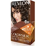 Revlon ColorSilk Permanent Color, Dark Brown 30