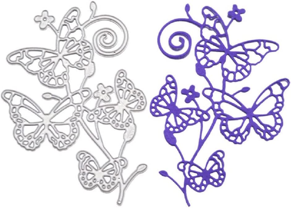 Christmas Butterfly Metal Cutting Dies DIY Craft Scrapbooking Stencil Paper Card