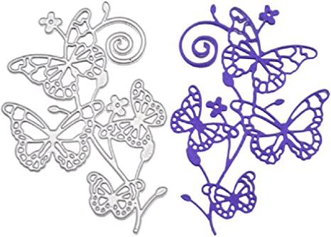 Pretty Butterfly Metal Cutting Dies Stencil For DIY Scrapbooking Card Embossing
