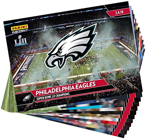 PHILADELPHIA EAGLES PANINI INSTANT 36 CARDS #518-53 SUPER BOWL LII CHAMPIONS SET (Card Signature Nfl)
