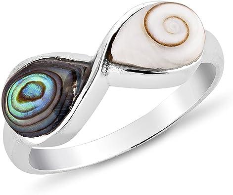 925 Sterling Silver Vintage Ring for Women Shell Shaped Handmade Ring.