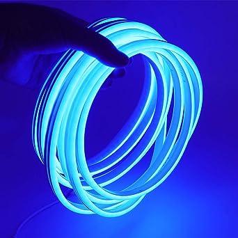 Streifen LED Neon Biegsam Wasserdicht IP65 5 M 120 LED//M 12V