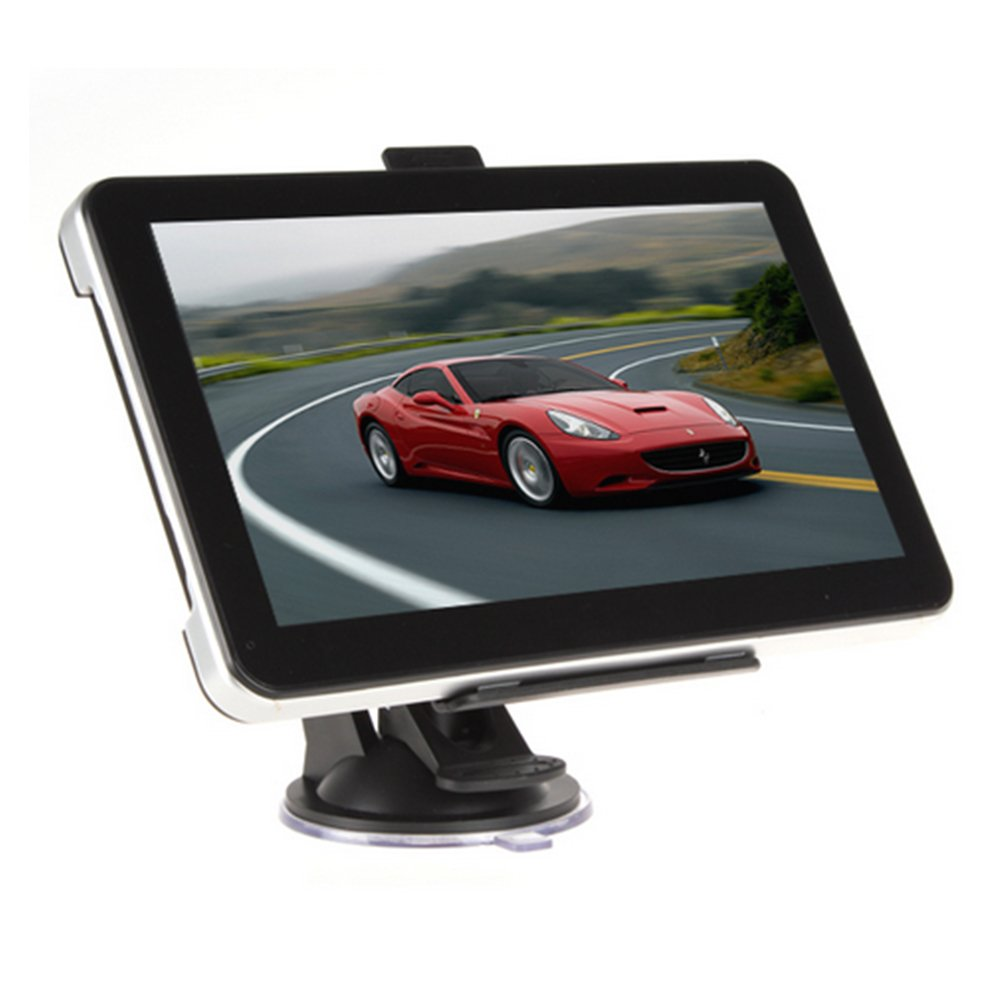 Car GPS Navigation System 7-Inch 8G HD Touch Screen with Lifetime Maps and Traffic