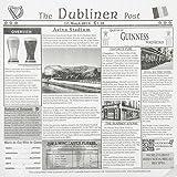 Dubliner Post Sandwich Basket Paper Liner - 12''Sq