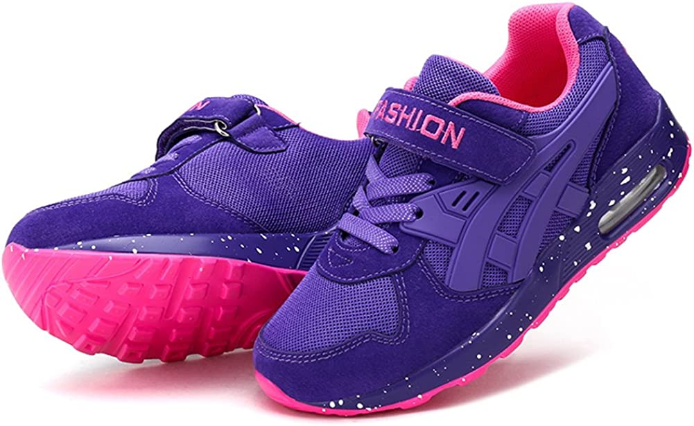 Z.SUO Boys Girls Casual Strap Light Weight Sneakers Running Shoes Little Kid//Big Kid