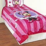 Minnie Mouse Super Sweet Twin Comforter and Sheet Set