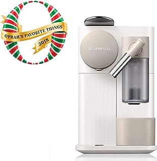 Nespresso by De'Longhi EN500W Lattissima One Original Espresso Machine with Milk Frother, Silky White