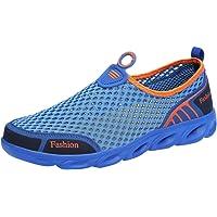 Morrivoe Sneakers, Zapatillas Deportivas Outdoor Hollow Casual para Hombre, Calzado Deportivo Zapatos Deportivos cómodos y Transpirables