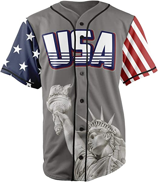 Greater Half Custom Baseball Jersey