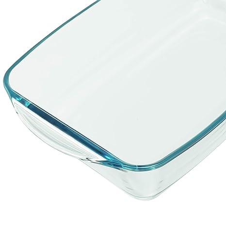 Montana 046935 - Fuente de cristal para horno: Amazon.es: Hogar