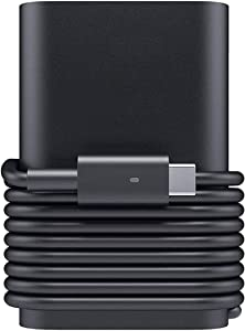 Milipow 45W Type-C Replacement Charger for Dell Latitude 3390 5175 5179 5285 5289 7212 7275 7285 7289 7389 7390,XPS 12 9250,XPS 13 9365,9370,Chromebook 5190 USB-C 45W AC Power Adapter with US Cable