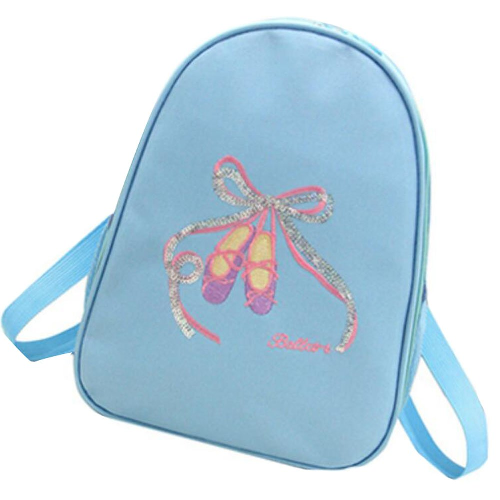 George Jimmy Kids Dance Bags Travel Backpack School Bags Girls Backpacks Side Bags Blue by George Jimmy