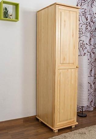 schmaler Kleiderschrank, Farbe: Natur 190x47x60 cm: Amazon.de: Baumarkt