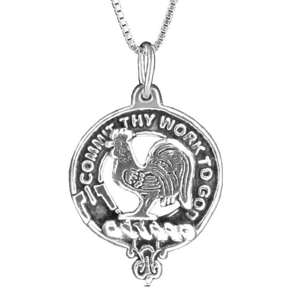 Sinclair Clan Crest Scottish Pendant