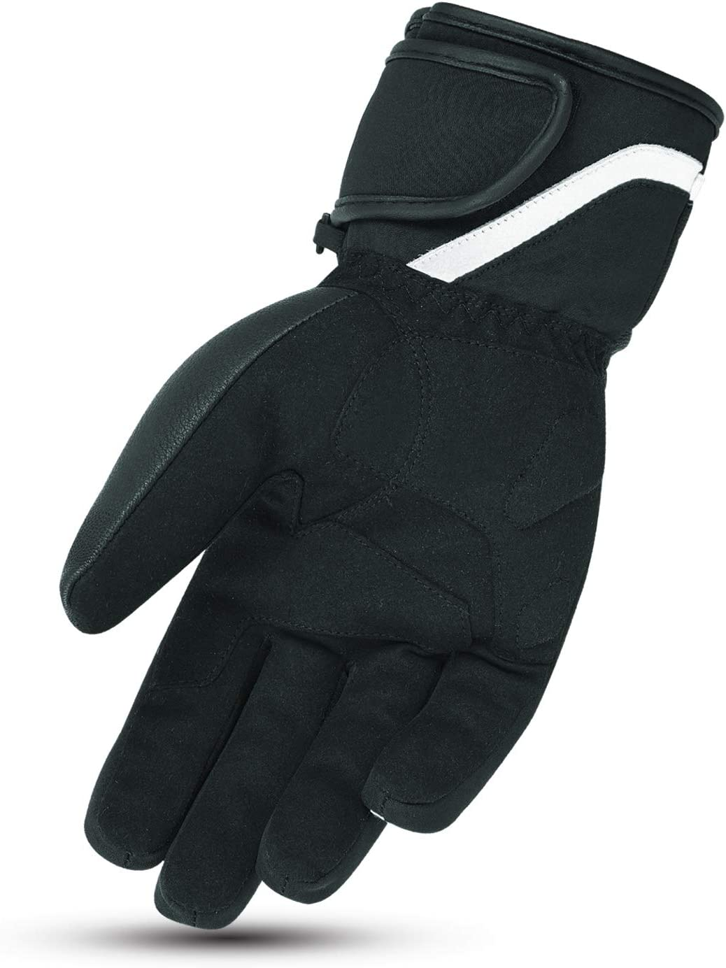XS, Wei/ß Jet Motorradhandschuhe Winter Wasserdicht Leder Textil Kn/öchelschutz PROTEX