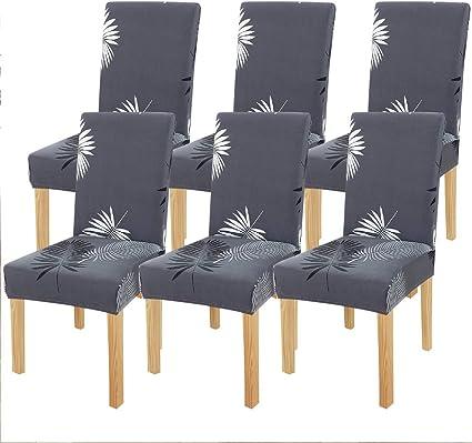 Blau LOVIVER Stuhlhusse Stretch Stuhl/überzug Stuhlbezug Hussen /Ø 35-50cm f/ür Hochzeitsband Hotelstuhl Barhocker Stuhl Hocker