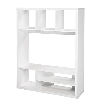 Meuble Tv Alinea Blanc.Kubico Living Tv Blanc Blanc Alinea 120 0x157 5x39 0