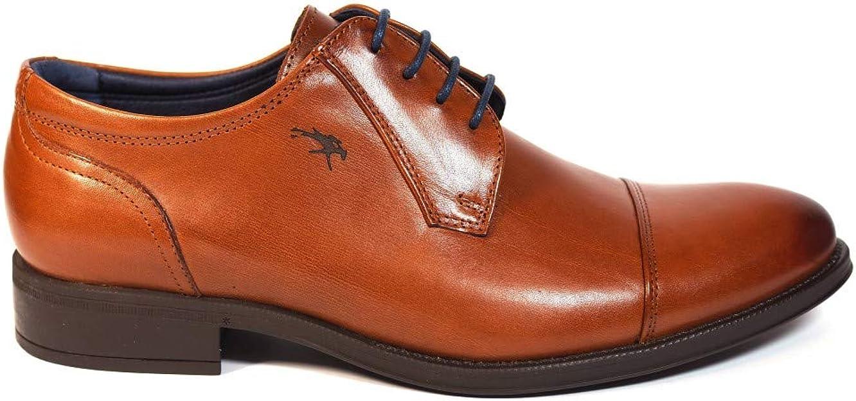 La Valenciana Zapatos para Hombre Fabricados en España de Piel Fluchos 8412 Cuero: Amazon.es: Zapatos y complementos