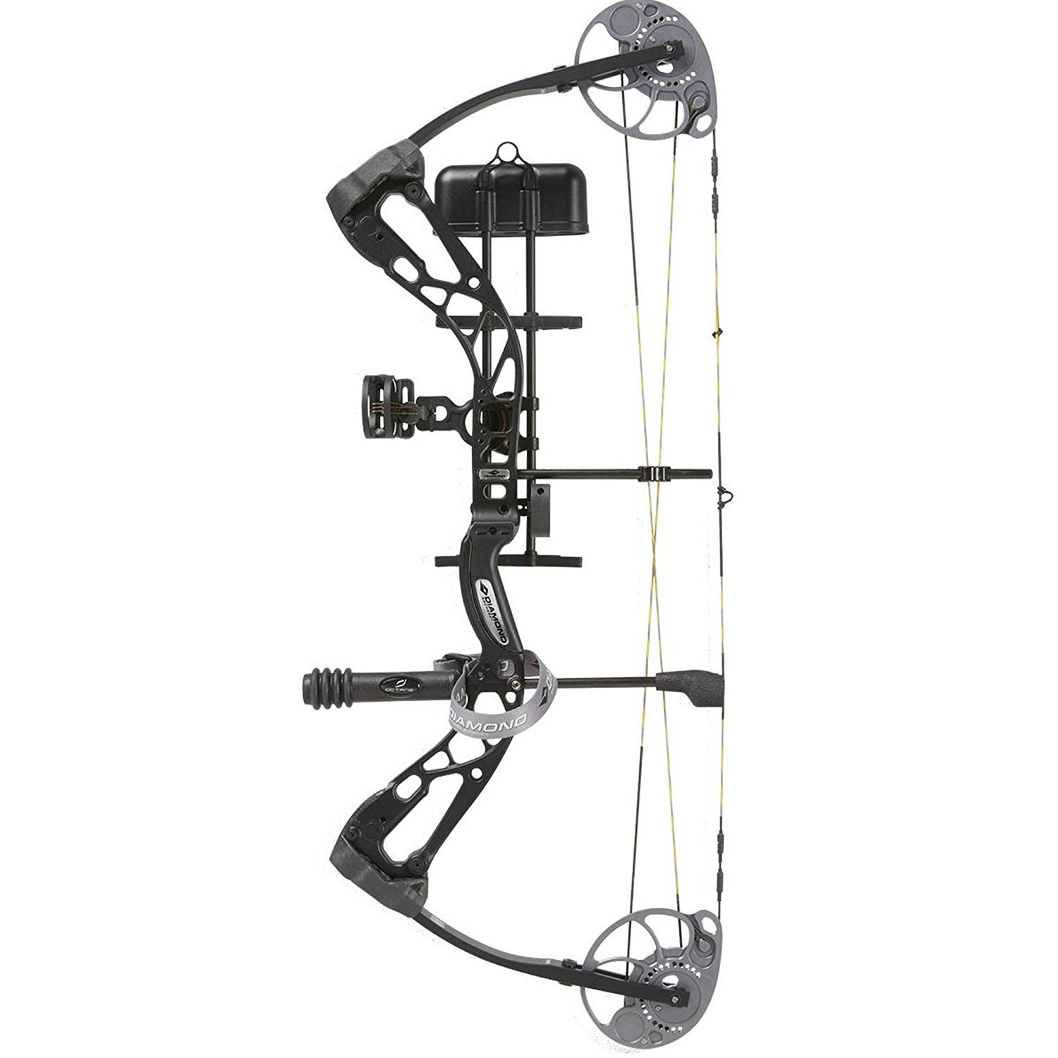 Diamond Archery A12698 16 Edge SB-1 Bow Package Black Right Hand 15-30'' 7-70#