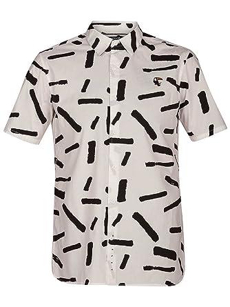 new styles 39335 6f9a4 Hurley Herren Hemd kurz Bowie Hemd: Amazon.de: Bekleidung