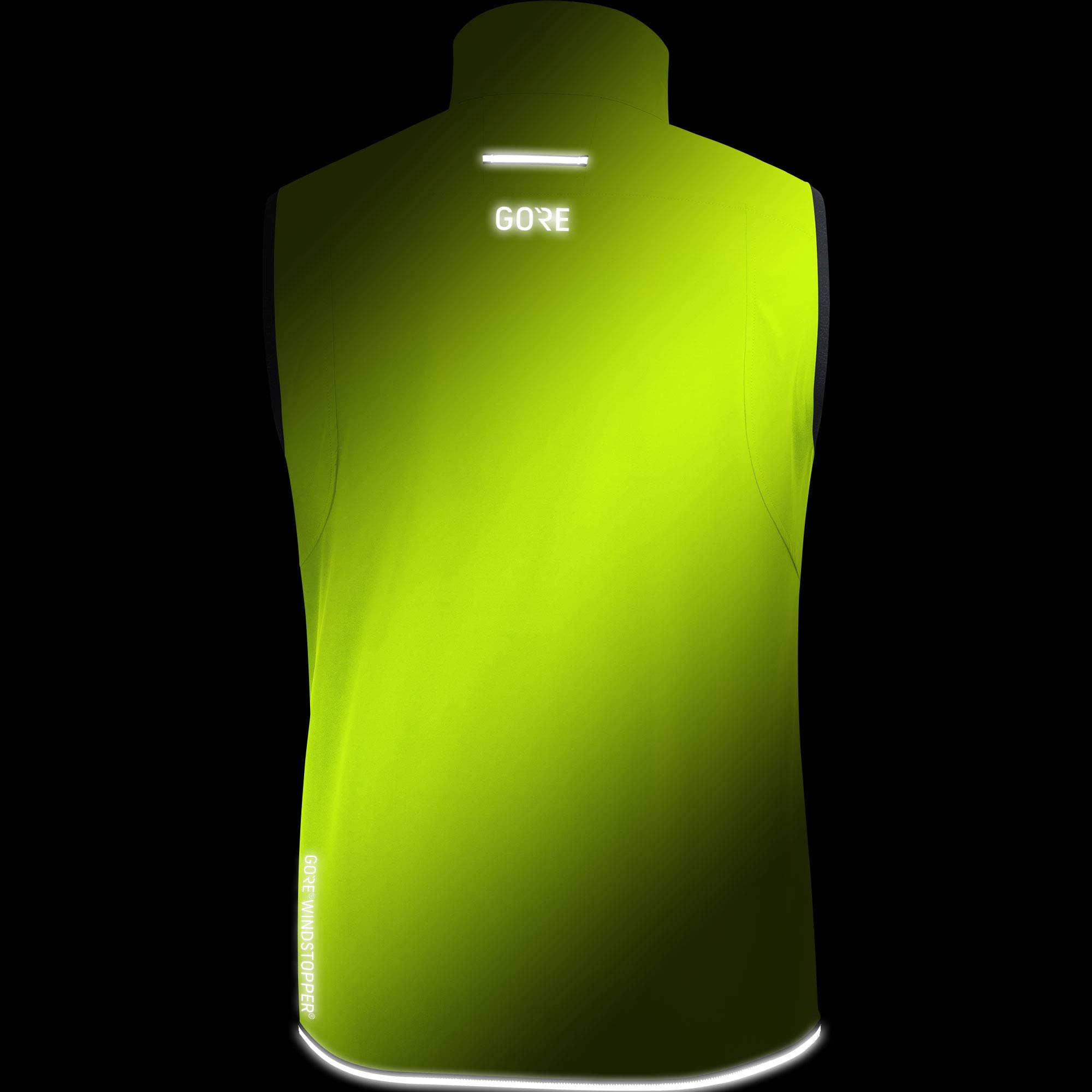 Gore Men's R3 Gws Vest,  neon yellow,  L by GORE WEAR (Image #5)