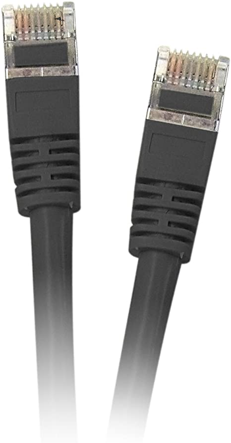 3ft CAT5E Black Molded Snagless Patch Cable Value Line