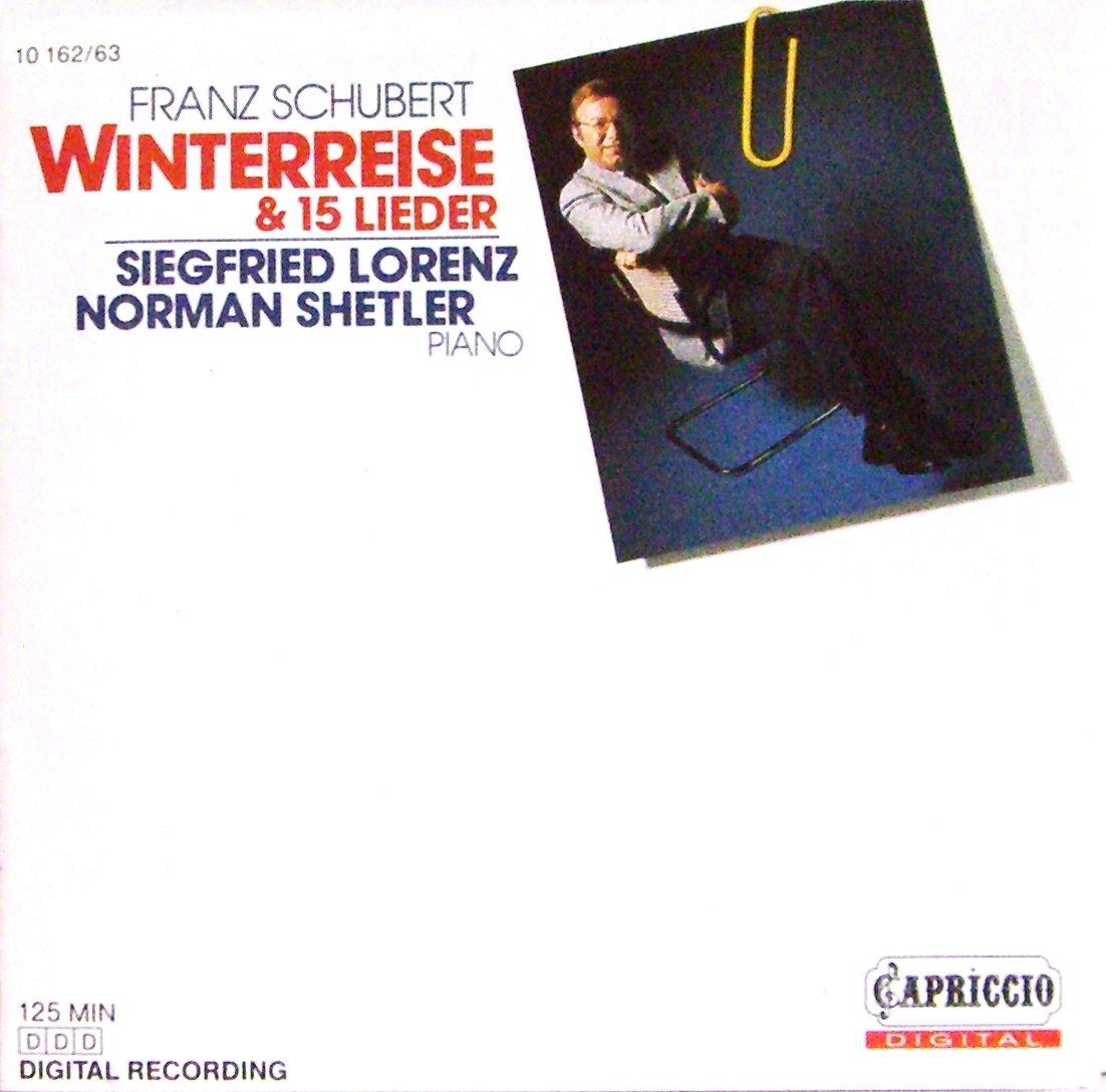 Schubert: Winterreise / 15 Lieder