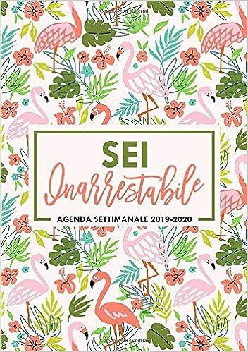 Amazon.com: Sei inarrestabile: Agenda settimanale 2019-2020 ...