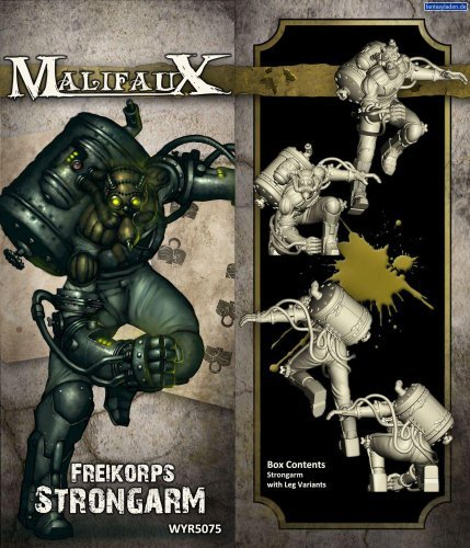 Wyrd Miniatures Malifaux Outcast Freikorps Strongarm Model Kit