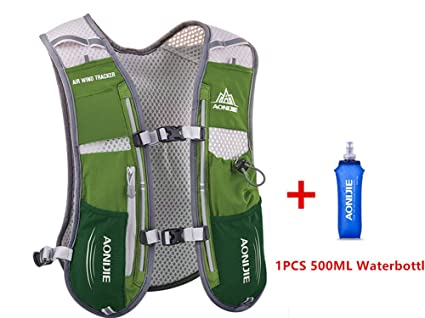 AONIJIE 5L multifunción Mochilas de hidratación, Ideal para Deportes al Aire Libre, acampadas,