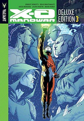 X-O Manowar Deluxe Edition Book 3