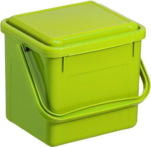 Rotho Compost Cubo Bio, Cubo de Basura para la Cocina de plástico ...