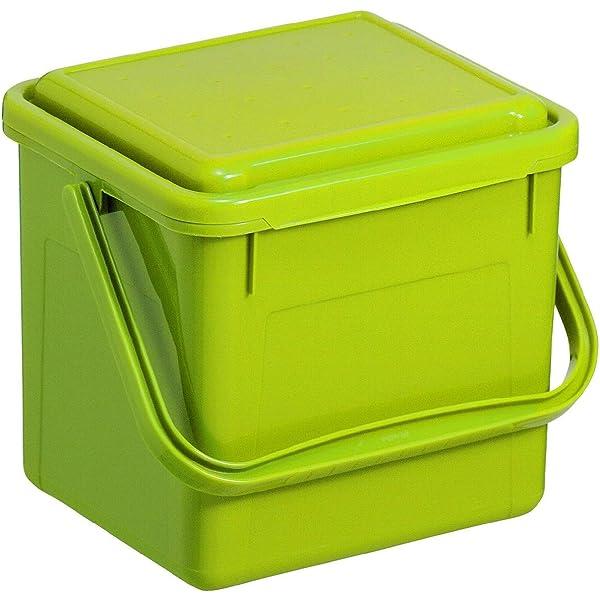 allBIO 6 litros bolsas de basura residuos para compost para ...