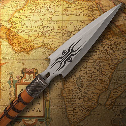 Review African Wooden Warrior Spear