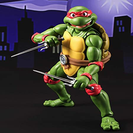 Teenage Mutant Ninja Turtle TMNT Leo Raph Mikey Don Movable ...